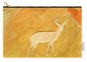 Deer In Stone Carry-all Pouch