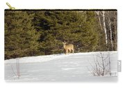 Deer In The Distance Carry-all Pouch