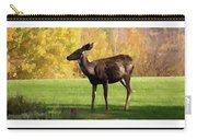 Deer In The Wild Carry-all Pouch