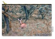 Deer In Woods Carry-all Pouch
