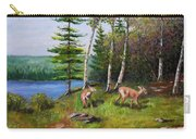 Deer Meadow Carry-all Pouch