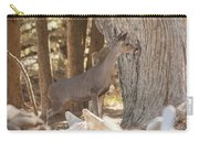 Deer On The Look Out Carry-all Pouch
