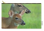 Deer Portrait Carry-all Pouch