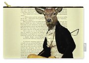 Deer Regency Portrait Carry-all Pouch