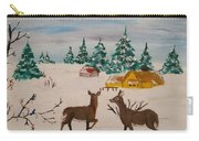 Deer Scene Carry-all Pouch