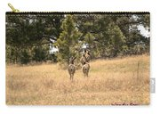 Deer Tails Carry-all Pouch