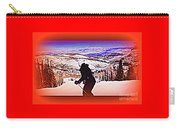 Deer Valley Utah Powder Carry-all Pouch