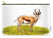 Deer Water Color Digital Art Carry-all Pouch