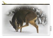 Deer With An Itch Carry-all Pouch
