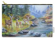 Deers At The Water Carry-all Pouch
