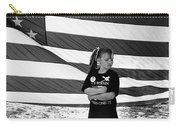 Defiant Girl Desert Storm Troops Welcome Home Celebration Ft. Lowell Tucson Arizona 1991 Carry-all Pouch