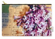 Defining Lilacs Carry-all Pouch