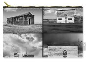 Defunct Country Taverns On North Dakota Prairie Composite Square Carry-all Pouch