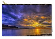 Deganwy Sunset Carry-all Pouch by Adrian Evans