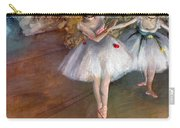 Degas: Dancers, C1877 Carry-all Pouch by Granger