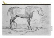 Degas, Horse.  Carry-all Pouch