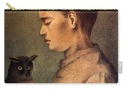Degouve: Child & Owl, 1892 Carry-all Pouch