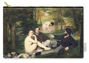 Dejeuner Sur L Herbe Carry-all Pouch by Edouard Manet