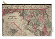 Delaware And Maryland Carry-all Pouch