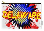 Delaware Comic Exclamation Carry-all Pouch