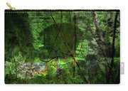 Delaware Green Carry-all Pouch by Richard Ricci