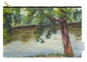 Delaware River At Washington's Crossing Carry-all Pouch
