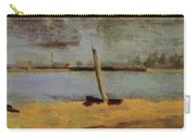 Delaware Riverscape From Gloucester Carry-all Pouch