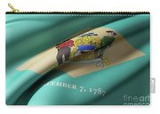 Delaware State Flag Carry-all Pouch