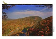 Delaware Water Gap In The Fall Carry-all Pouch