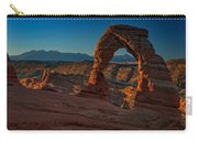 Delicate Arch At Sunrise Carry-all Pouch