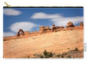 Delicate Arch Famous Landmark In Arches National Park Utah Carry-all Pouch