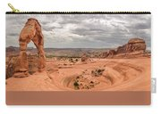 Delicate Arch Panoramic Carry-all Pouch by Adam Romanowicz