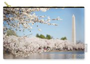 Delicate Blossoms Over The Tidal Basin Carry-all Pouch