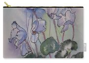 Delicate Cyclamen Carry-all Pouch