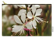 Delicate Gaura Flowers Carry-all Pouch