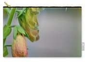 Delicate Hanging Blossom Carry-all Pouch