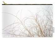 Delicate January Tree Branches Carry-all Pouch
