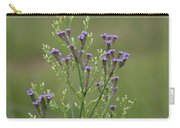 Delicate Lavender Verbena Wildflowers Carry-all Pouch