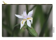 Delicate Pale Purple Iris Carry-all Pouch