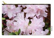 Delicate Pink Azaleas Carry-all Pouch by Carol Groenen