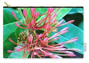 Delicate Pink Flower Carry-all Pouch