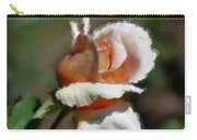 Delicate Rosebud Carry-all Pouch