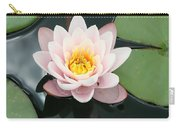Delicate Waterlily Carry-all Pouch