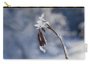Delicate Winter Carry-all Pouch