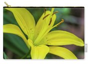 Delicate Yellow Oriental Lily Carry-all Pouch