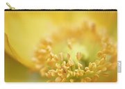 Delicate Yellow Poppy Carry-all Pouch