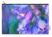 Delphinium Abstract Carry-all Pouch