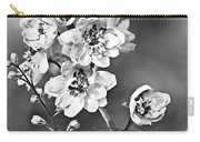 Delphinium Black And White Carry-all Pouch