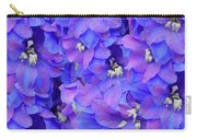Delphinium Blue Carry-all Pouch