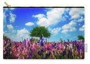 Delphinium Daydreams Carry-all Pouch
